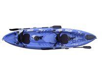 Sit-on-top kayak / rigid / recreational / three-seater