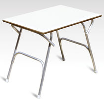Deck cockpit table / folding / fold-away / aluminum