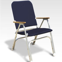 Standard boat chair / for yachts / folding / with armrests