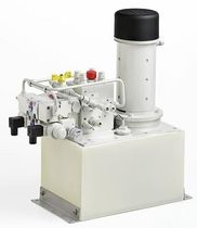 Boat hydraulic power unit / electrically-powered