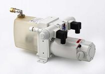 Boat hydraulic power unit / for autopilots / electrically-powered