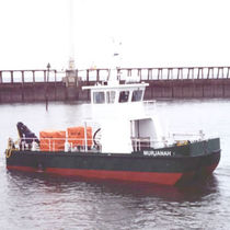 Oil spill recovery boat