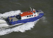 Offshore wind farm service boat