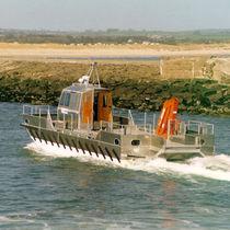 Catamaran aquaculture boat