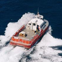 Aluminum logistics transport boat