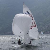 Jib / for sailing dinghies / 420 / cross-cut