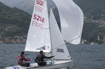 Spinnaker / for sailing dinghies / 420