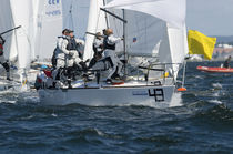 Jib / for one-design sport keelboats / J24
