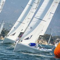 Jib / for one-design sport keelboats / J70 / tri-radial cut