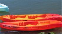 Sit-on-top kayak / rigid / sea / 1-person