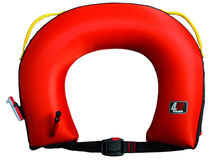 Boat horseshoe lifebuoy / inflatable
