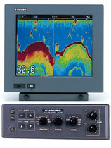 Boat echo sounder / graphic