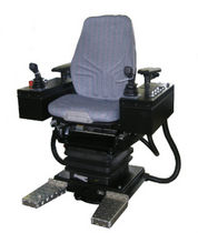 Ship seat / helm / with built-in pilot console / high-back
