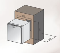 Boat refrigerator / for ships / for yachts / built-in