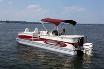 Outboard pontoon boat / 11-person max.