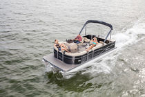 Outboard pontoon boat / sport-fishing / 8-person max.