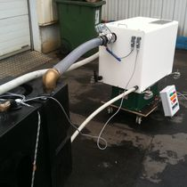 Black water treatment system / for boats