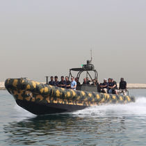 Inboard inflatable boat / hydro-jet / RHIB / hard-top