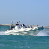 Outboard passenger boat / rigid hull inflatable boat