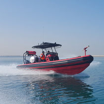 Outboard fireboat / rigid hull inflatable boat