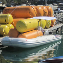 Outboard inflatable boat / foldable / 12-person max.