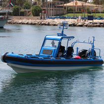 Inboard work boat / outboard / rigid hull inflatable boat