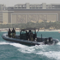 Inboard anti-piracy boat / outboard / rigid hull inflatable boat
