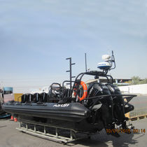 Outboard patrol boat / rigid hull inflatable boat / aluminum
