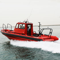 Inboard service boat / outboard / rigid hull inflatable boat