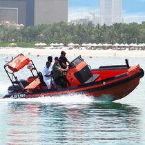 Rigid hull inflatable boat SAR boat
