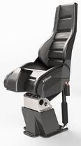 Helm seat / for boats / with suspension / high-back