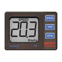 Boat speed log / digital