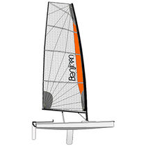 Single-handed sailing dinghy / recreational / regatta / skiff