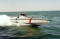 Inboard waterjet surveillance boat