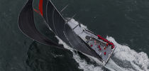 Ocean racing sailing super-yacht / open transom / carbon / canting keel