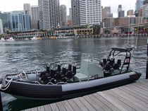 Inboard military boat / outboard / rigid hull inflatable boat