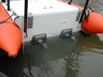 Inboard search and rescue boat / rigid hull inflatable boat