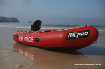 Outboard rescue boat / rigid hull inflatable boat
