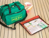 Boat first aid kit / coastal navigation