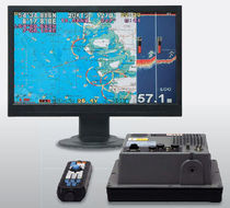 GPS combo / chart plotter / fishfinder / for boats
