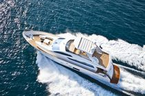 Cruising luxury motor-yacht / flybridge / displacement