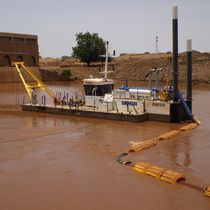 Special vessel / cutter-suction dredge