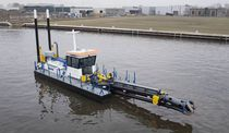 Cutter-section dredge