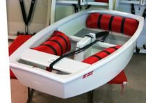 Children's sailing dinghy / single-handed / regatta / catboat