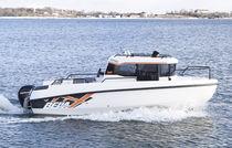 Outboard cabin cruiser / with enclosed cockpit / 8-person max. / twin-berth