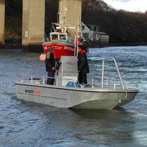 Outboard utility boat / aluminum