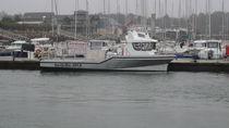 Inboard logistics transport boat / aluminum