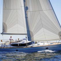 Mainsail / for cruising sailboats / radial cut