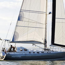 Mainsail / for cruising sailboats / polyester