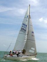 Mainsail / for one-design sport keelboats / J24 / cross-cut